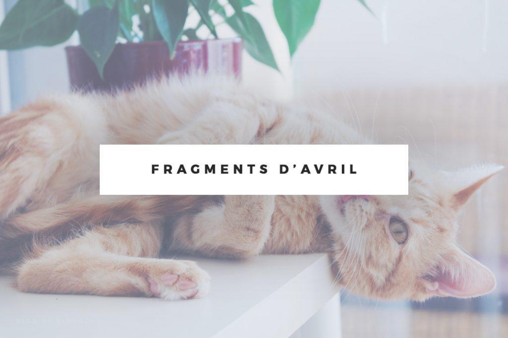 Fragments d'avril