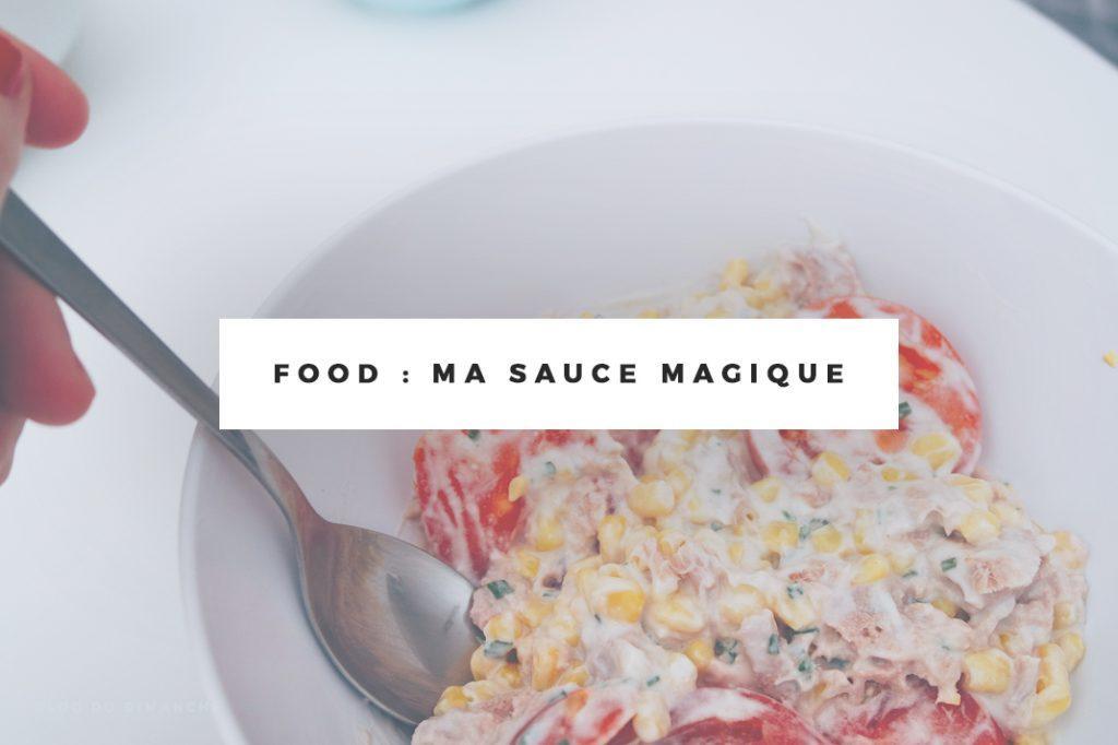 Food | Ma sauce magique et la salade 1 minute chrono !