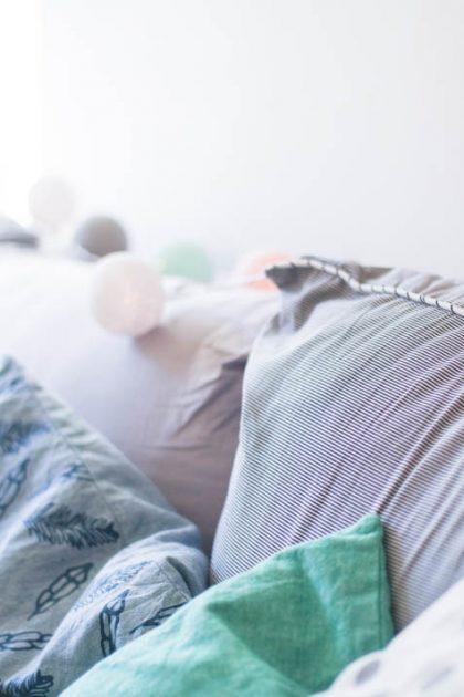 Avant – Après | Le petit relooking de mon canapé