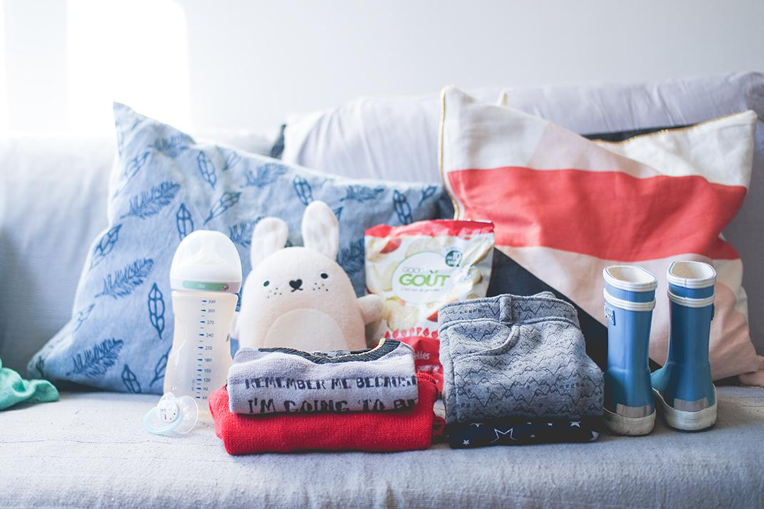 Les indispensables à glisser dans le sac pour la nounou (+ Checklist printable !)