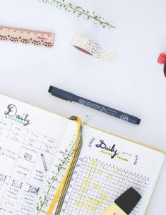 Bullet journal : 5 comptes instagram qui m'inspirent