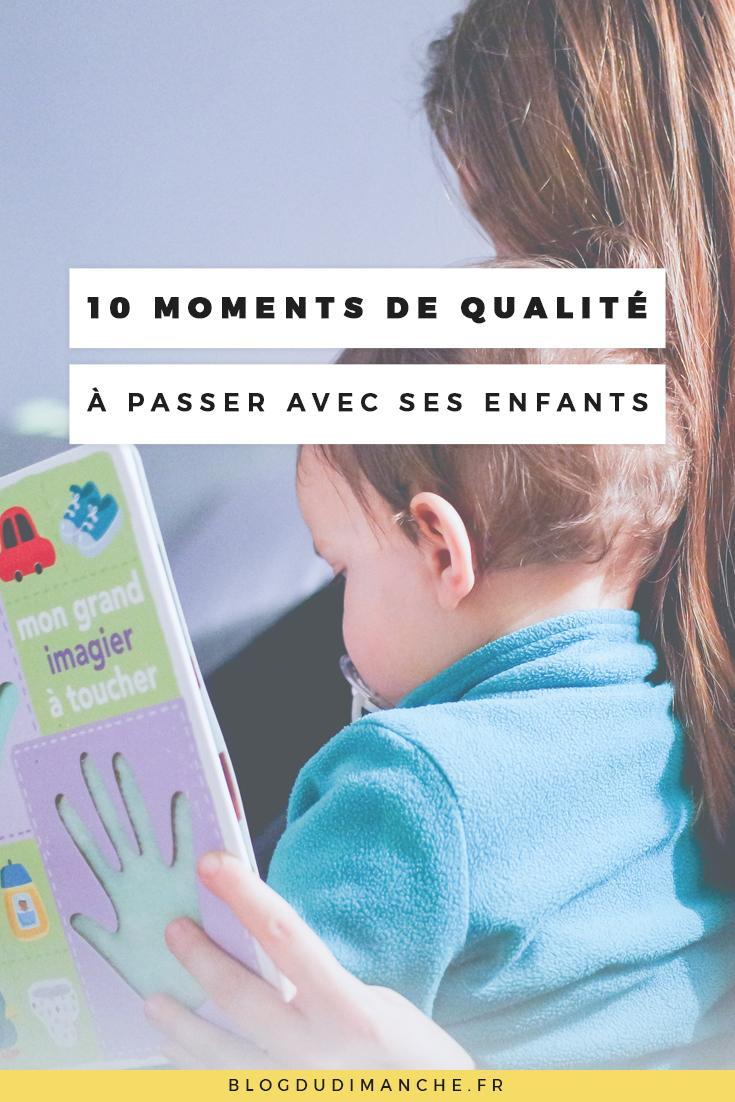 SI vous cherchez comment améliorer les moments passés avec vos enfants, cet article pourrait vous aider !