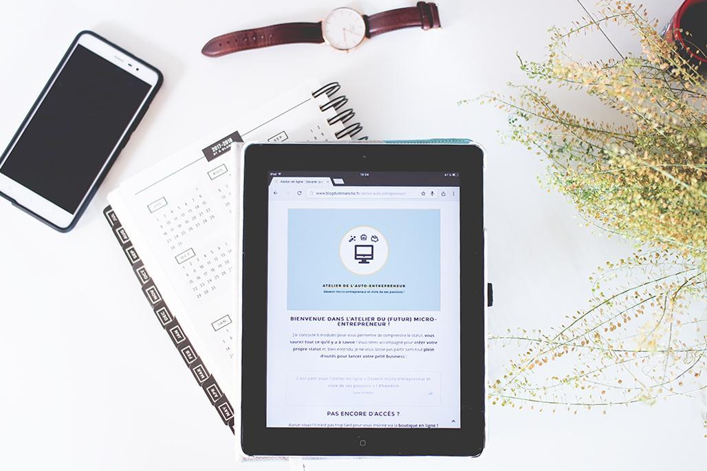 Atelier en ligne : Devenir auto-entrepreneur et vivre de ses passions