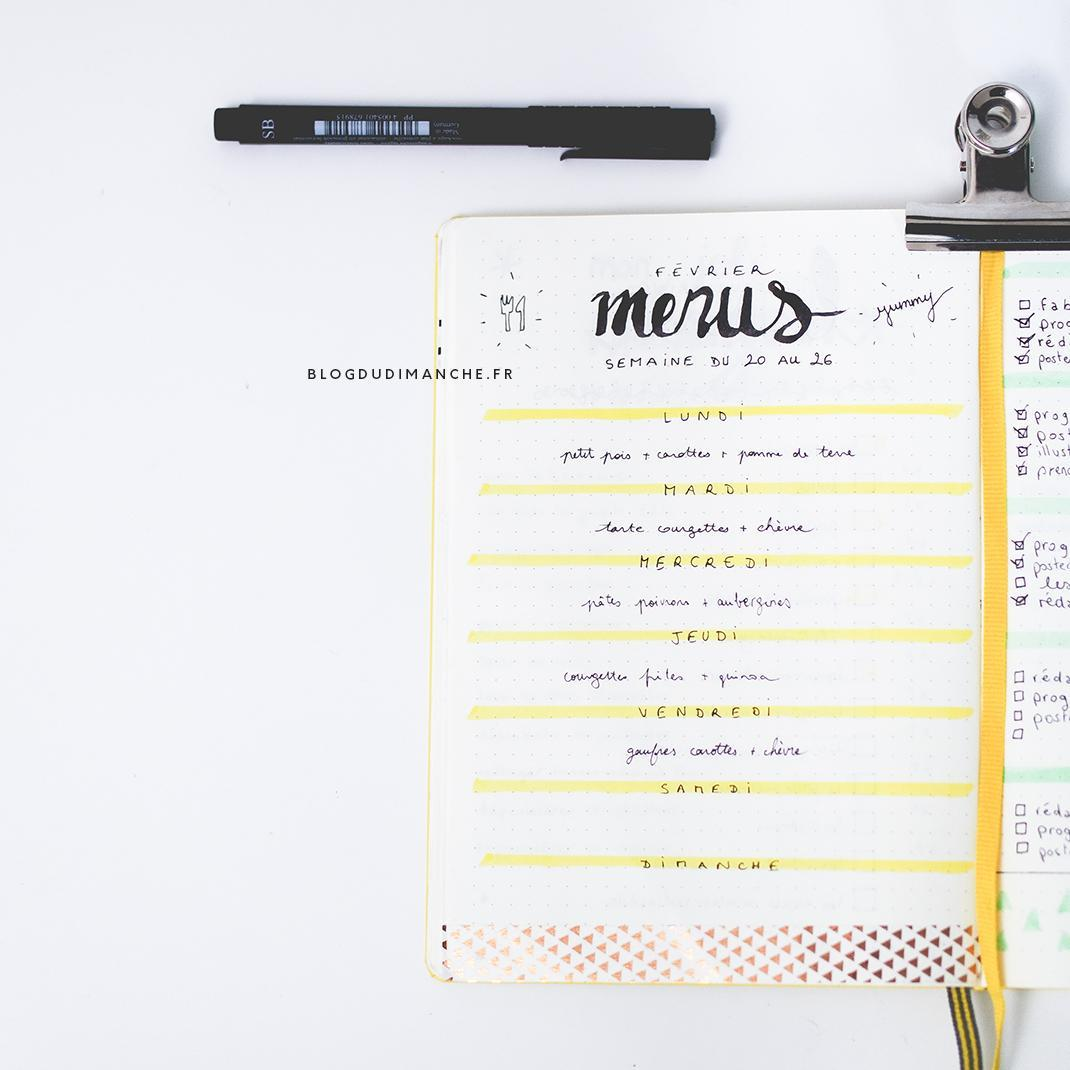 Bullet Journal : 5 idées pour s'organiser