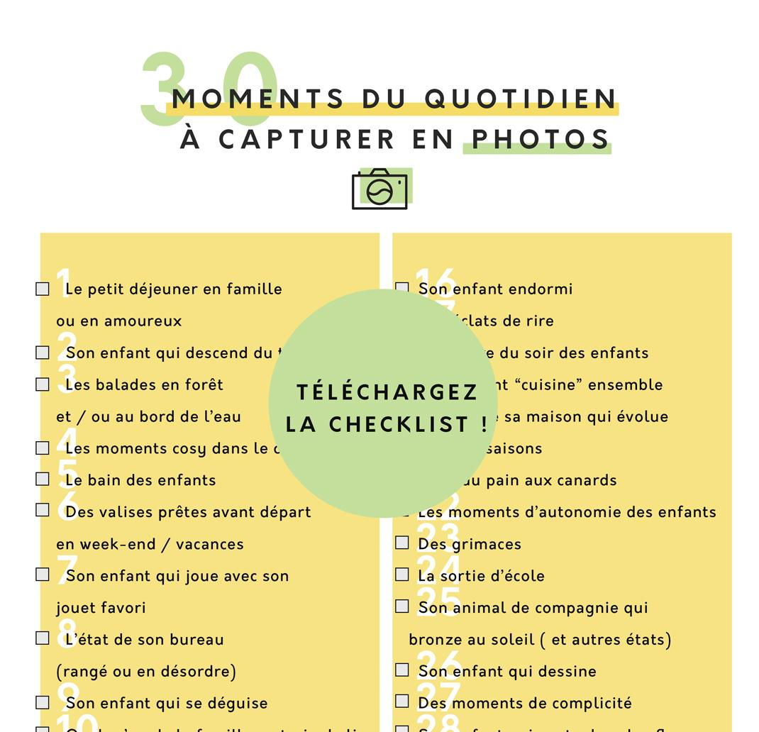 30 moments du quotidien qui méritent d'être capturés en photos