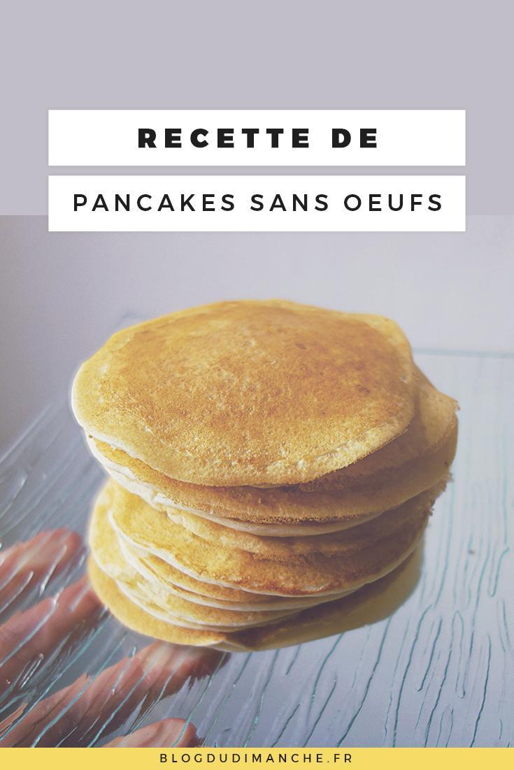Si vous cherchez une recette de pancakes sans œufs, celle-ci pourrait vous plaire !