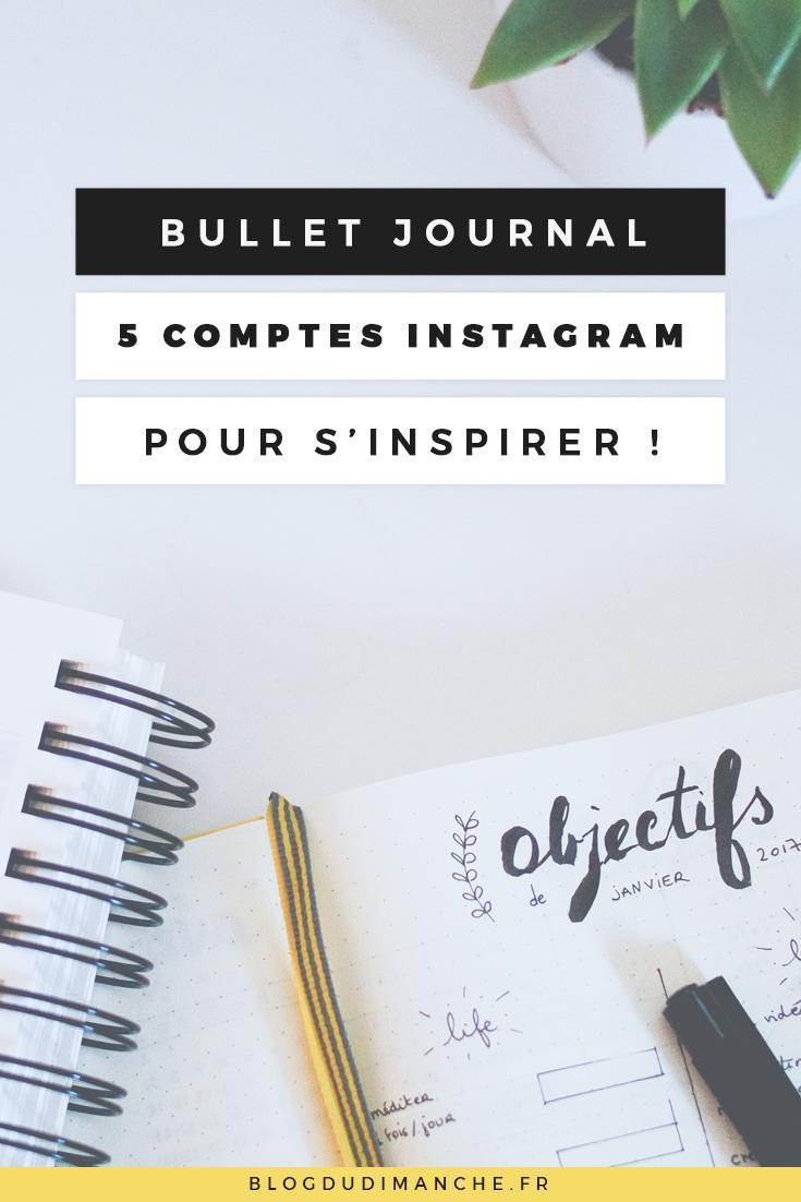 Si vous ne savez pas par où commencer pour votre Bullet Journal, ces comptes Instagram devraient vous plaire !