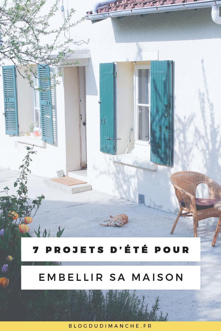 Couleur Extérieur Maison 2017 7 projets d'été pour embellir la maison