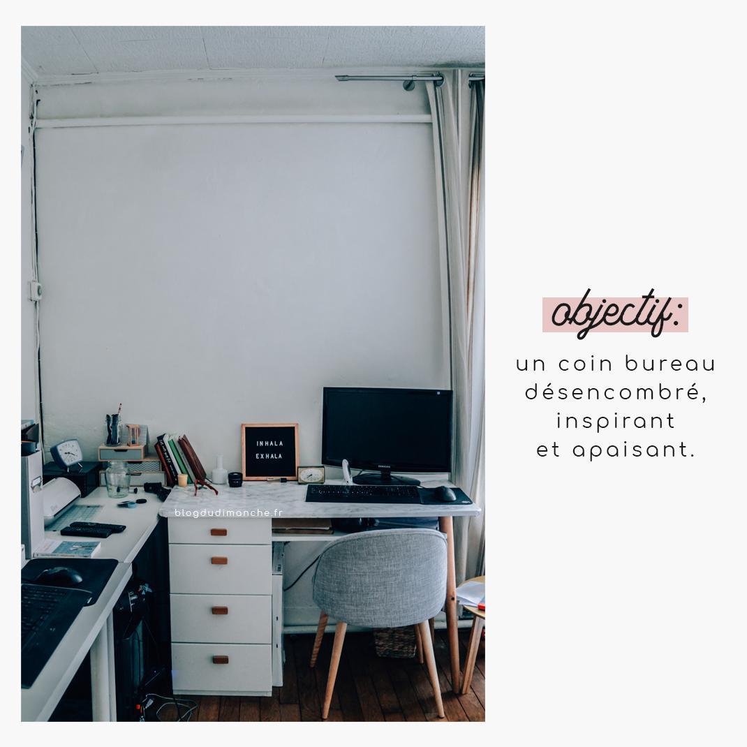 Couleur Apaisante Pour Bureau avant-après | le relooking simple et efficace de mon coin bureau